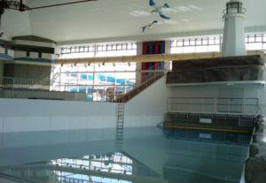 安城プール スライダー