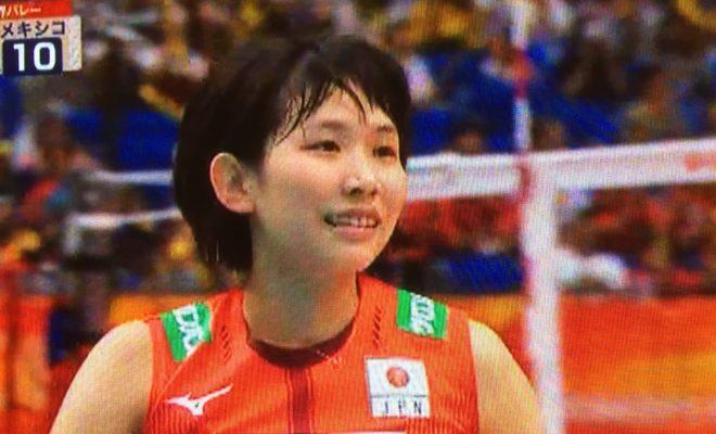 女子バレー 古賀選手 かわいい